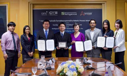Automation Anywhere partners Dhurakij Pundit University and STelligence to nurture robotics talent in Thailand