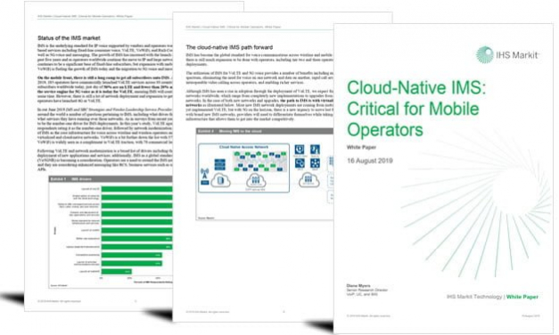Is cloud-native IMS critical for our 5G future?