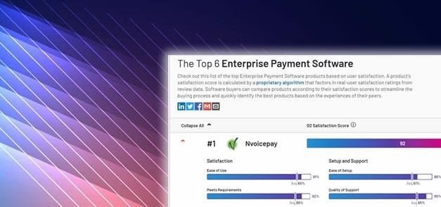The Top 6 Enterprise Payment Software