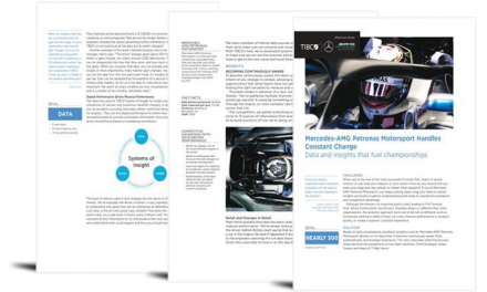 TIBCO Success Story Mercedes AMG Petronas Motorsport