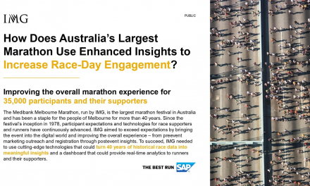 Australia's largest marathon uses enhanced insights for better race-day engagement