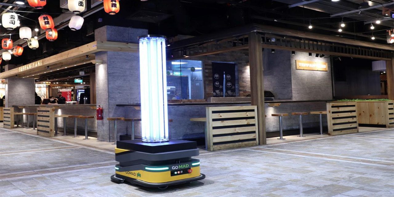Singapore mall operator banks on autonomous robots for coronavirus disinfection