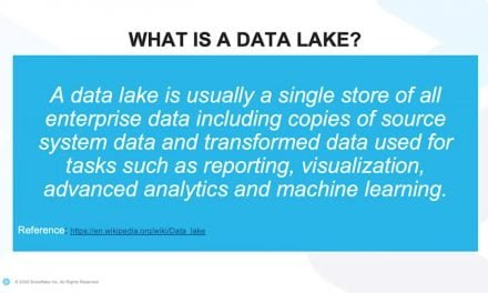 Webinar: 10 tips to ensure your data lake does not become a data swamp
