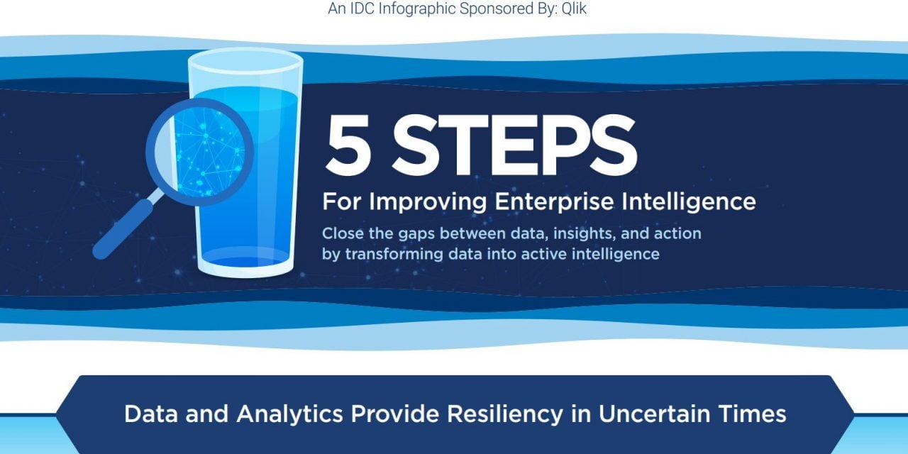5 steps for improving enterprise intelligence