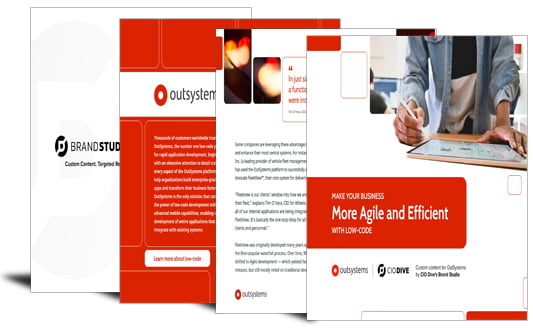 Make your organization more agile and efficient with low-code