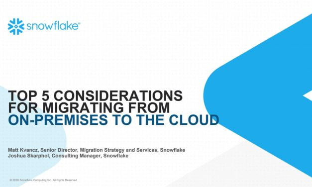 Webinar: Should you consider migrating from on-prem to the Cloud?