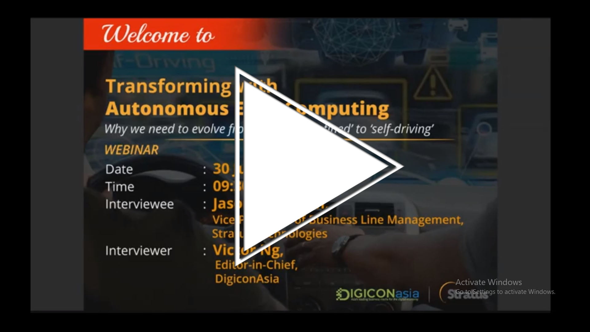 Transforming with autonomous edge computing