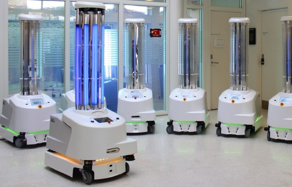 Disinfection duties soon to be even more automated, thanks to C-Astra