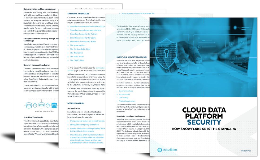 Cloud data platform security: How snowflake sets the standard?