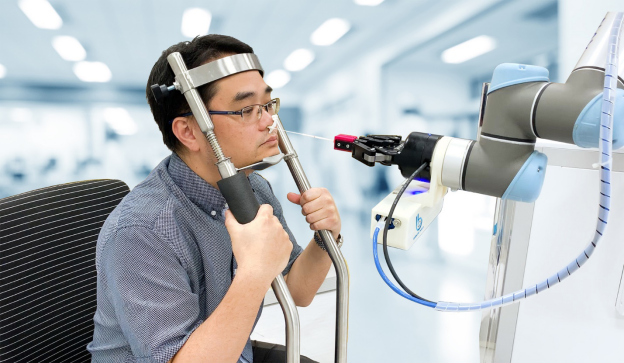 When no human hands should be put in jeopardy, cobots can help