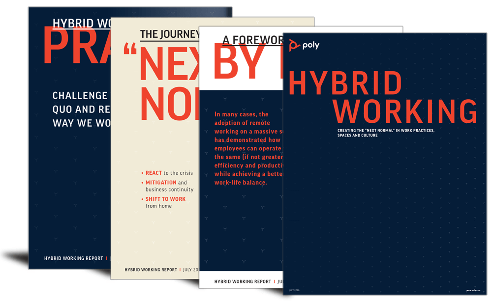 Hybrid working: the 'next normal'