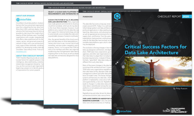 Critical factors that will determine data lake architecture success