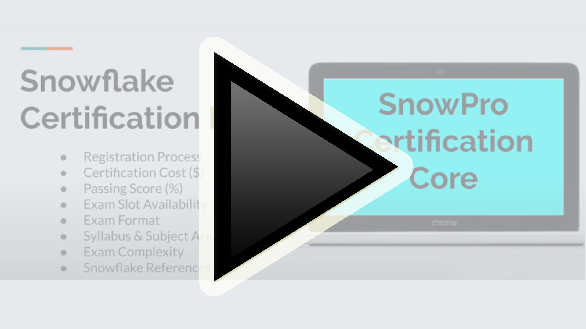 Enhancing your data management career with Snowflake Certification