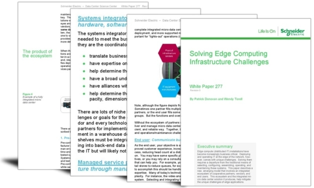 Solving edge computing infrastructure challenges