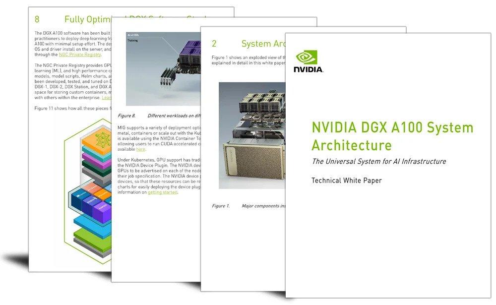 Technical paper: NVIDIA DGX A100 system architecture