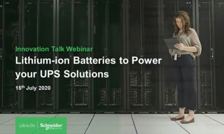 Innovation Talk: Lithium-Ion Batteries to Power your UPS Solutions